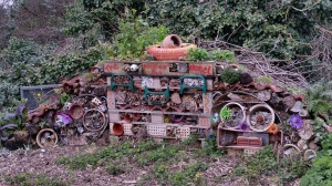 Bug hotel in Barnwell Community Orchard